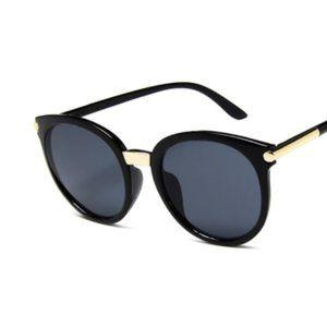 Round Frame Sunglasses Unisex Vintage Style